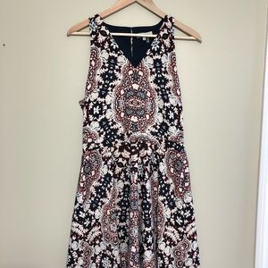 Sweet and Airy patterned dress
